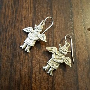 Jeep Collins cowgirl earrings